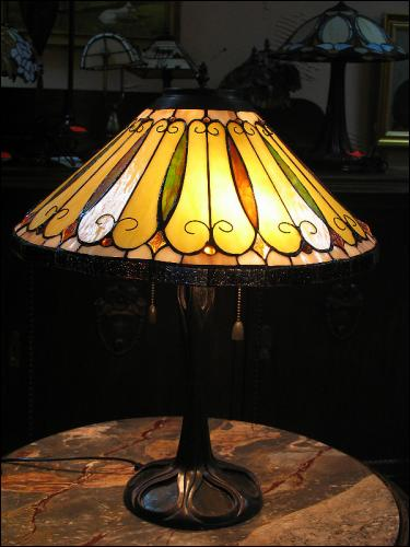 LAMPA WITRAŻOWA TIFFANY 60 CM