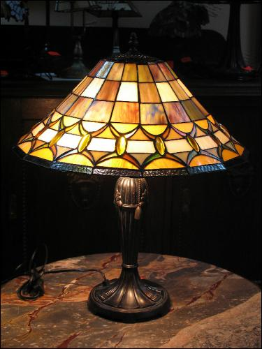 LAMPA WITRAŻOWA TIFFANY 57 CM