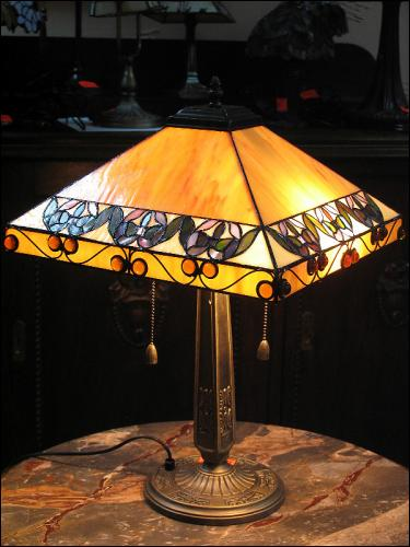 LAMPA WITRAŻOWA TIFFANY 54 CM