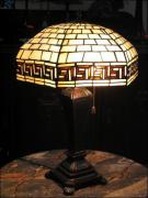 DUŻA LAMPA WITRAŻOWA TIFFANY 60 CM - zdjęcie 1