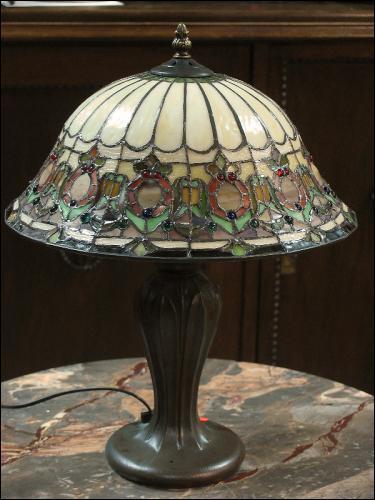 LAMPA WITRAŻOWA TIFFANY 42 CM