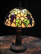 LAMPA WITRAŻOWA TIFFANY 35 CM - WINOGRONA - zdjęcie 1