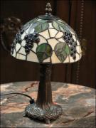 LAMPA WITRAŻOWA TIFFANY 35 CM - WINOGRONA - zdjęcie 2