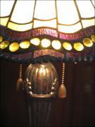 LAMPA WITRAŻOWA TIFFANY 58 CM - zdjęcie 3