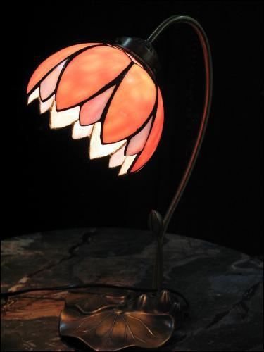 LAMPA TIFFANY - DO SYPIALNI LUB NA BIURKO