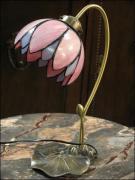 LAMPA TIFFANY - DO SYPIALNI LUB NA BIURKO - zdjęcie 2