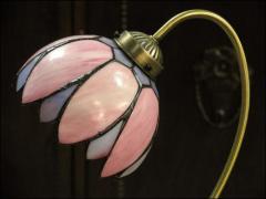 LAMPA TIFFANY - DO SYPIALNI LUB NA BIURKO - zdjęcie 4