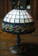 LAMPA WITRAŻOWA TIFFANY 32 CM - zdjęcie 2