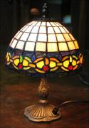 LAMPA WITRAŻOWA TIFFANY 32 CM - zdjęcie 3