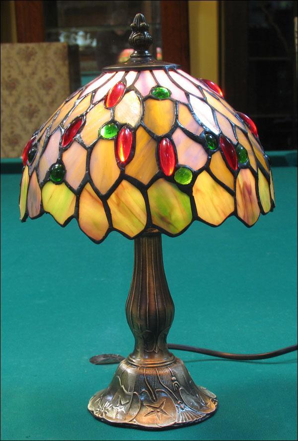 LAMPA WITRAŻOWA TIFFANY 34 CM