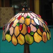 LAMPA WITRAŻOWA TIFFANY 34 CM - zdjęcie 3