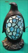 LAMPA WITRAŻOWA TIFFANY PINGWIN - zdjęcie 2