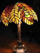 LAMPA WITRAŻOWA TIFFANY 50 CM - zdjęcie 4