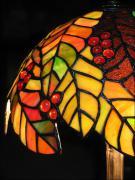 LAMPA WITRAŻOWA TIFFANY 50 CM - zdjęcie 5