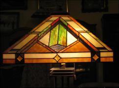 LAMPA WITRAŻOWA TIFFANY 71 CM - zdjęcie 3