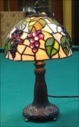 LAMPA WITRAŻOWA TIFFANY 33 CM  WINOGRONA - zdjęcie 1
