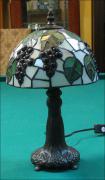 LAMPA WITRAŻOWA TIFFANY 33 CM  WINOGRONA - zdjęcie 2