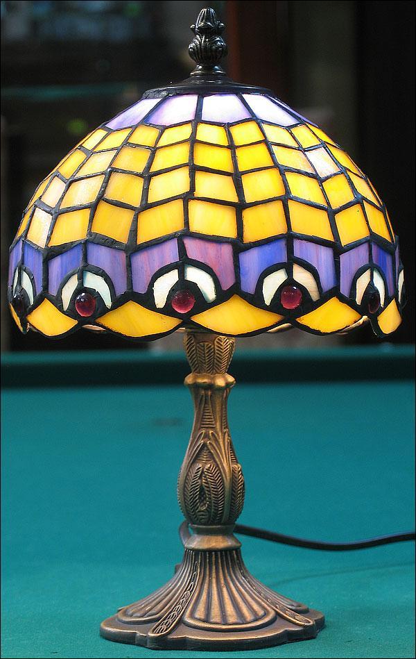 LAMPA WITRAŻOWA TIFFANY 30 CM
