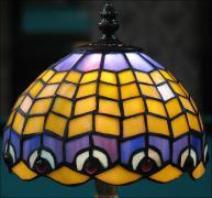 LAMPA WITRAŻOWA TIFFANY 30 CM - zdjęcie 3