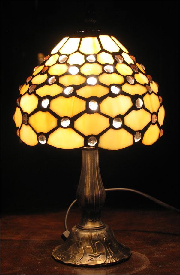 LAMPA WITRAŻOWA TIFFANY 35 CM