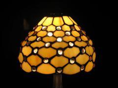 LAMPA WITRAŻOWA TIFFANY 35 CM - zdjęcie 3
