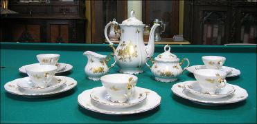 BAWARSKI SERWIS KAWOWY EDELSTEIN Maria Theresia - zdjęcie 4