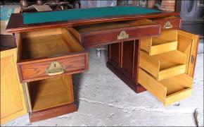 Dębowe biurko - zdjęcie 5