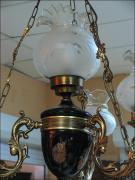WISZĄCA LAMPA Z CZTEREMA KLOSZAMI - zdjęcie 4