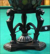 LAMPA WITRAŻOWA TIFFANY 28CM JAJO - zdjęcie 4