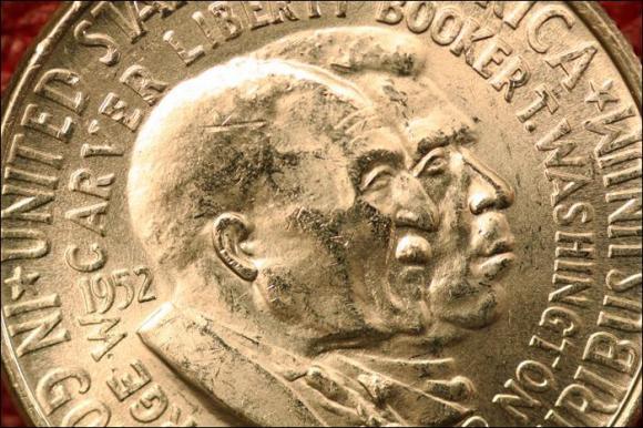 1952 - GEORGE WASHINGTON CARVER - PÓŁ DOLARA AM.